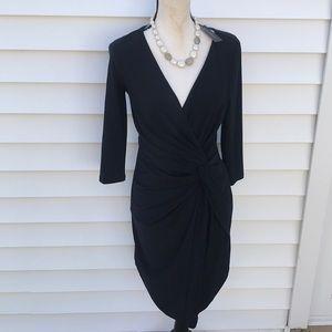 White House black market amazing black dress new